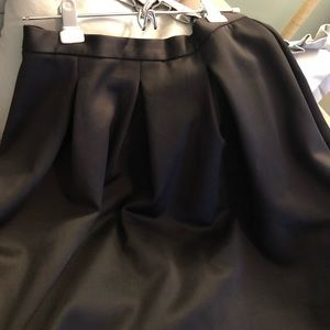 Black skirt ... feminine